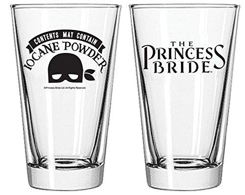 Princess Bride Iocane Powder Pint Glass