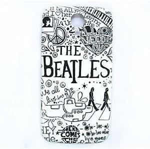 SHOUJIKE Beatles Pattern Thin Hard Case Cover for Samsung Galaxy S4 I9500