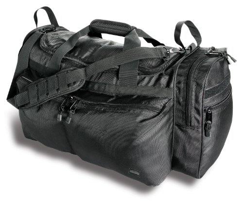 Uncle Mike's Law Enforcement Side-Armor Field Equipment Bag, Black ()