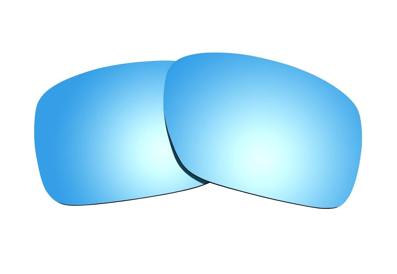 sunnyblue2アイスブルー偏光交換レンズOakley Turbineサングラス   B072MTRGK5