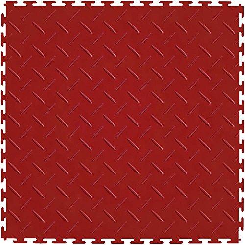 Vinyl Plate Diamond Flooring (IT Tile ITDP450TT45 Diamond Plate)
