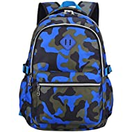 School Backpack Casual Daypack Travel Outdoor Camouflage Backpack for Boys and Girls
