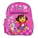 Dora the Explorer and Boots Happy and We Made it Girls 12'' School Backpack Bag