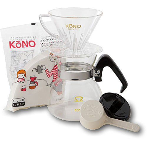 2 people for Kono formula coffee dripper prestigious (japan import)