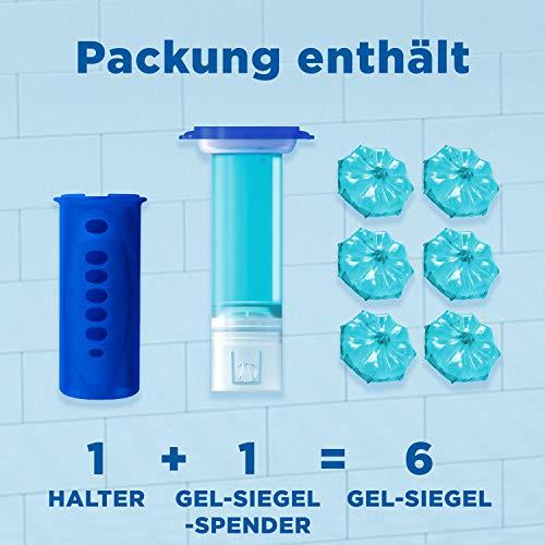 2x WC Ente Frische Siegel Starter Set Marine 6 Gel Siegel