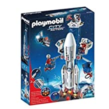 Playmobil City Action - Space Mission - Space Rocket With Launch Site