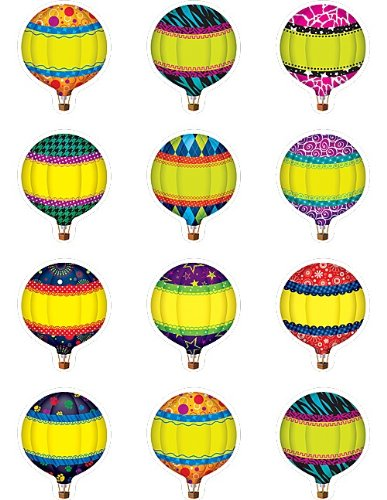 Teacher Created Resources Hot Air Balloons Mini Accents -