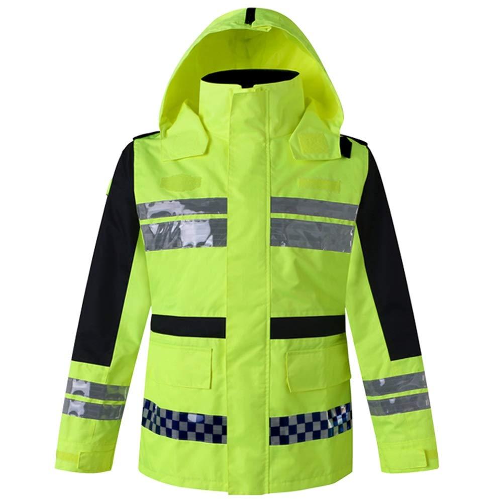 レインコート レインポンチョ 超反射道路交通大人の人体屋外義務防水服 ZHANGQIANG (色 : Raincoat set, サイズ さいず : XXXL) B07PBHPPGD Raincoat set XXXL