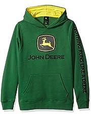 John Deere Big Boys' Fleece Hoody Pull Over