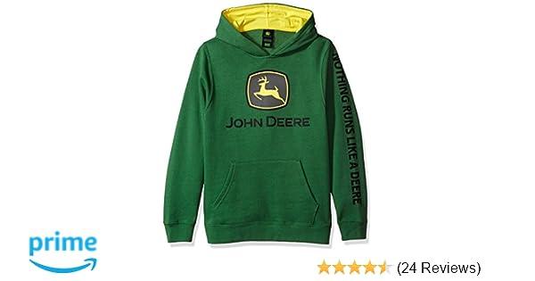 Amazon.com: John Deere Tractor Big Boys Youth Pullover Fleece Hoody Sweatshirt: Clothing