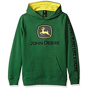 John Deere Tractor Big Boys' Youth Pullover Fleece Hoody Sweatshirt