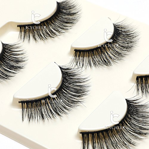 3-Pairs-Long-Cross-False-Eyelashes-Makeup-Natural-3D-Fake-Thick-Black-Eye-Lashes-Icycheer-Soft-Fake-Lash