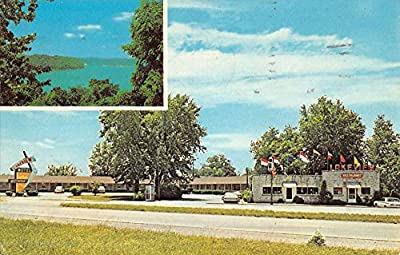 Burnside Kentucky Lakeview Motel Multiview Vintage Postcard K52670