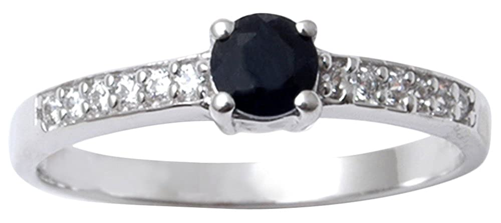 Banithani 925 Sterling Silver Amazing Indian Fashion Black Onyx Stone Ring Women Jewelry