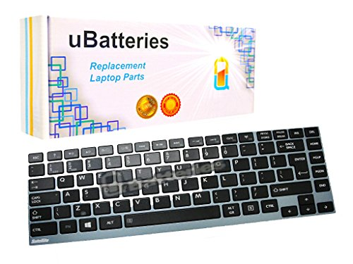 (UBatteries Compatible Keyboard Replacement For Toshiba Portege Z830 Z835 Z930 Z935 Satellite U800 U800W U840 U845 U845T U845W U900 U900W U920 U925 U930 U940 U940S U940t U955 P000552600 LKB-TO12B Black)