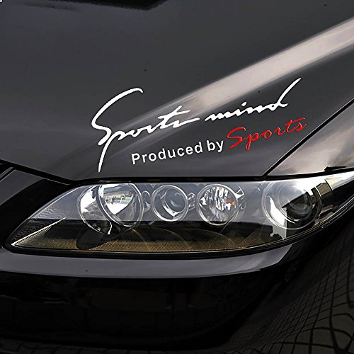 Racing Sports Eyebrow Reflective Stickers