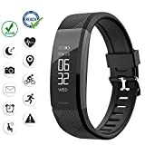 Abandship Fitness Tracker, Activity Tracker Watch with Calorie Counter,Heart Rate Monitor Watch, Waterproof Smart Fitness Band with Step Counter,Pedometer Watch for Kid Women and Men