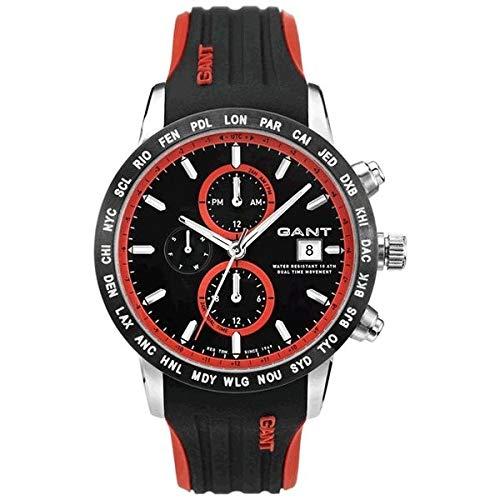 9817d40bef7c GANT Reloj de hombre Globetrotter Cronógrafo w11101  Amazon.es  Relojes