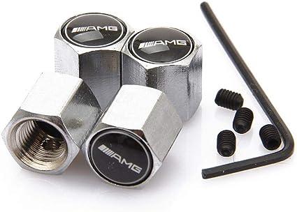 ATpart 4 Tapones de válvula antirrobo para neumáticos de Coche, de ...