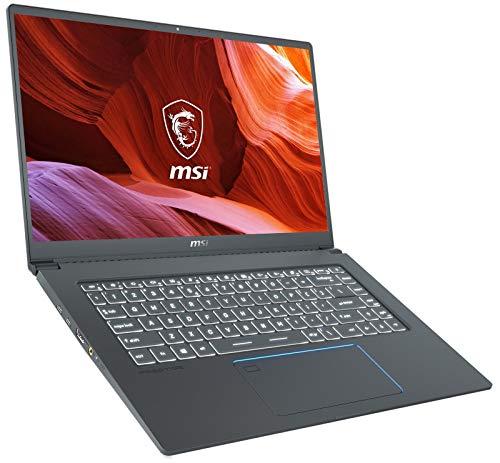 """XPC MSI Prestige 15 Notebook EVO Plus (Intel 10th Gen i7-10710U, 64GB RAM, 1TB NVMe SSD, NVIDIA GTX 1650 4GB, 15.6"""" Full HD, Windows 10 Pro) Professional Laptop"""