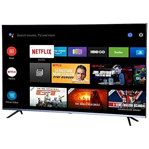 Mi Q1 138.8 cm (55 Inches) 4K Ultra HD Smart Android QLED TV L55M6-EQG (Black) (2020 Model)