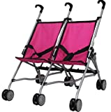 Mommy and me Twin doll Stroller S9313, Baby & Kids Zone