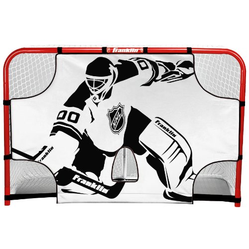 Franklin Sports NHL Championship Goal Shooting Target, 44-Inch x 54-Inch (Equipment Hockey Youth Ice)