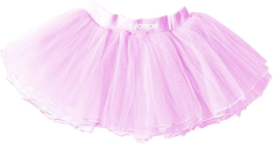 s.lemon Falda del Tutu Danza Ballet para Bebe niña: Amazon.es ...
