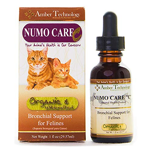 Amber Technology Numo-Care-C Bronchial Support for Cats, 1 oz. by Amber Technology