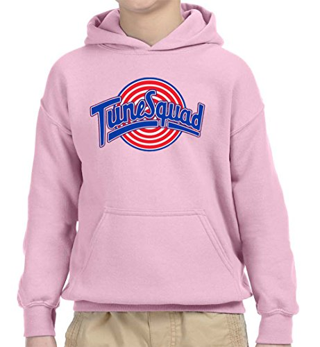 New Way 487 - Youth Hoodie Tune Squad Space Jam Basketball Team Unisex Pullover Sweatshirt XL Light ()