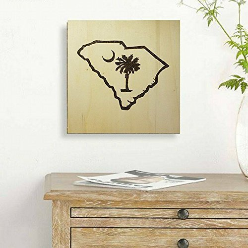 Top palmetto tree wood sign