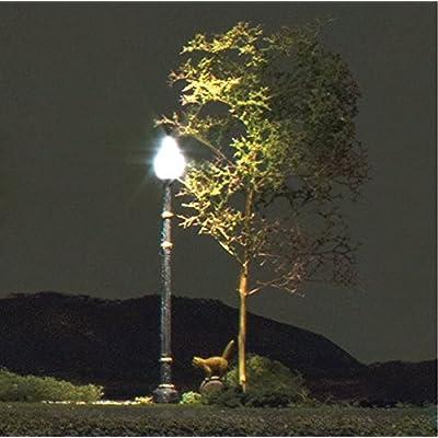Just Plug Woodland Scenics N Scale Street Lights Lamp Post: Toys & Games