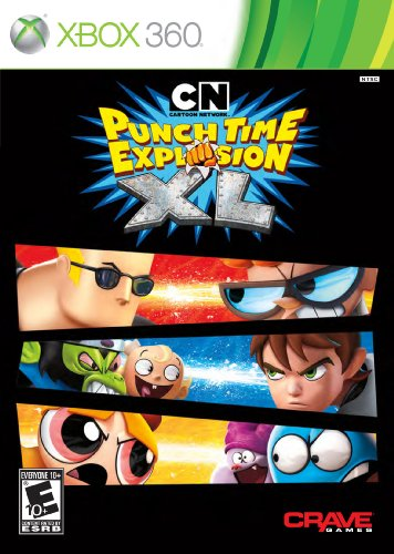Cartoon Network: Punch Time Explosion XL - Xbox 360 (Favorite Objects Punch)