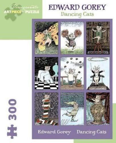 Amazon.com: Edward Gorey: Puzzle de 300 piezas para gatos de ...