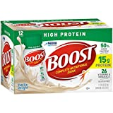 Boost High Protein Complete Nutritional Drink, Vanilla Delight, 8 fl oz Bottle (Pack of 4)