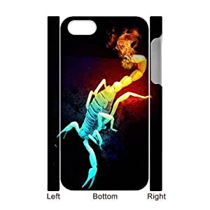 3D Bumper Plastic Case Of Scorpion customized case For Iphone 4/4s