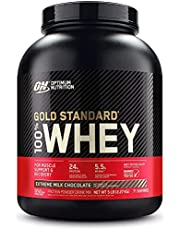Optimum Nutrition Gold Standard Whey , Extreme Milk Chocolate, 2267.96 grams