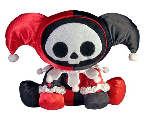 Skelanimals Marcy Monkey - Toynami Skelanimals Harley Quinn Marcy Deluxe Plush