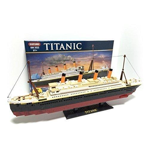 Oxford Titanic Building Block Kit Special Edition Assembly Blocks Bm 8522 14