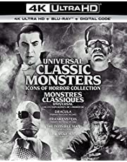 Universal Classic Monsters: Icons of Horror Collection - 4K Ultra HD + Blu-ray + Digital