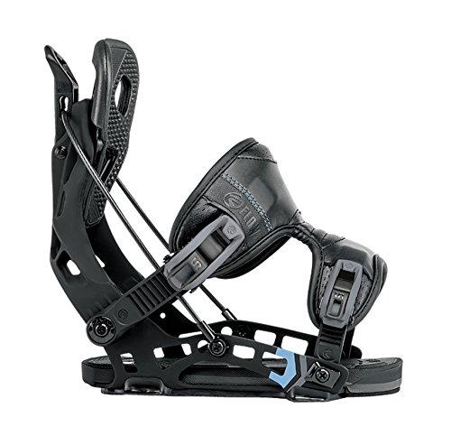 (Flow NX2 Fusion Snowboard Bindings 2018 - Men's Black X-Large)