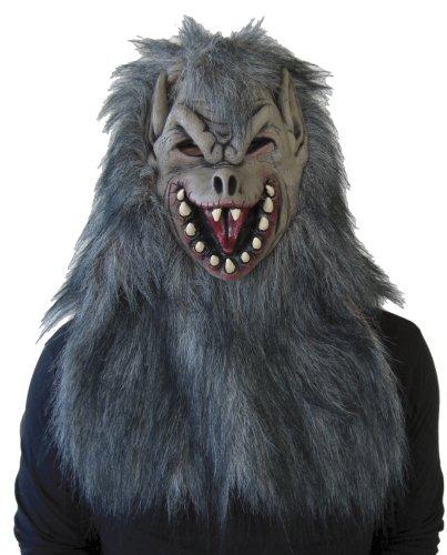 [Wolfman mask Wolf Man Mask 802746 (japan import) by RUBIE'S JAPAN] (Wolf Costume Halloween Express)