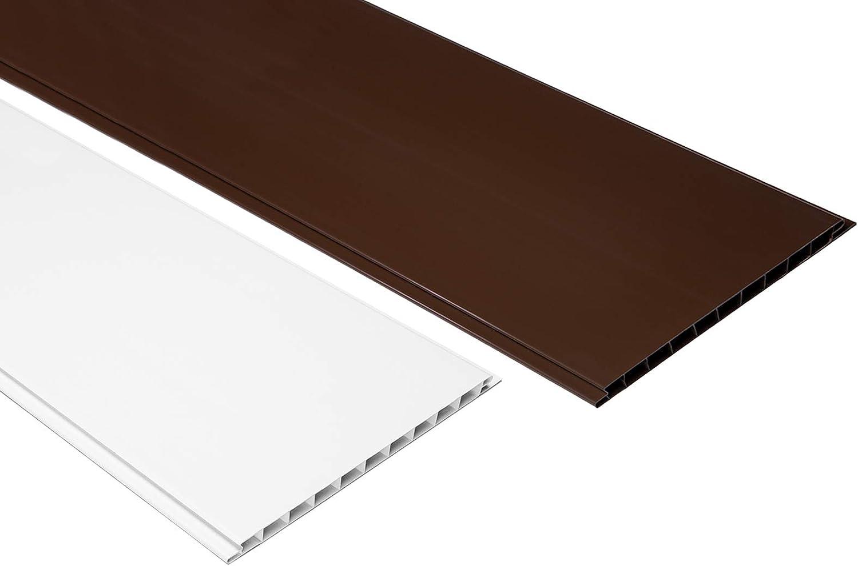 1m2PVC paneles plástico placas revestimiento pared techo 200x 16cm, pp16–01