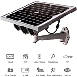 [Updated Version] Sunneo HW0029 Solar Battery Powered WiFi IP Camera 720P HD P2P Wireless CCTV Network Security Outdoor Waterproof Built-in 16GB TF Card