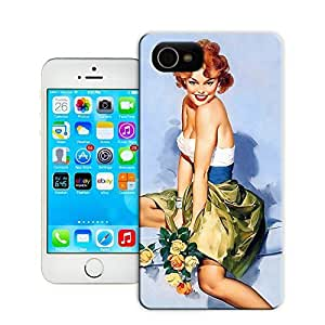 Unique Phone Case Fashion girl#22 Hard Cover for 4.7 inches iPhone 6 cases-buythecase