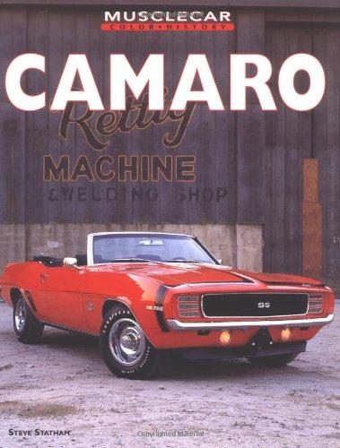 Camaro Muscle Car Color History At Virtual Parking Store