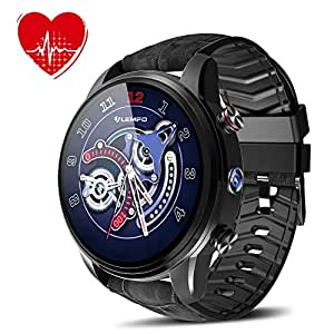 Reloj Inteligente con Cámara Ranura de Tarjeta SIM GPS 4G ...