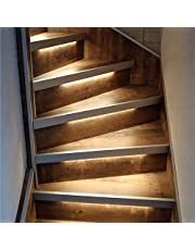 LED trapverlichting met bewegingssensoren| Warm Wit licht 2700K| complete set voor 10-16 treden|