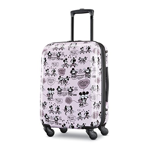 (American Tourister Kids' 21 Inch, Mickey and Minnie Romance)