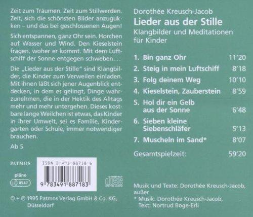 Lieder Aus Der Stille Cd Klangbilder Und Meditationen Für Kinder